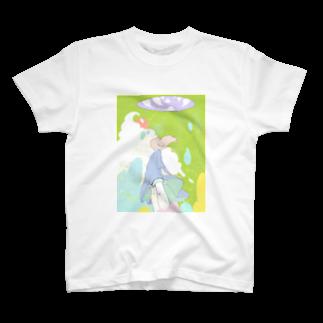 keiokudaのメロンソーダの外へ T-shirts