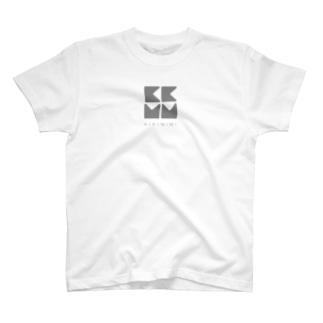 KIKIMIMIロゴTシャツ(シンプルグレー) T-shirts