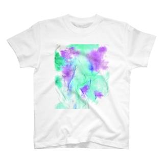 guru.glicoのティッシュART_No.001 T-Shirt