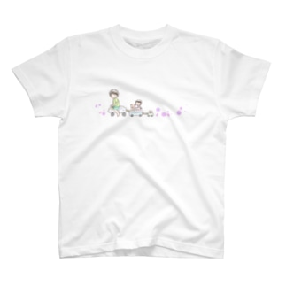 おにゃんこぽんのおみせのおでかけ T-shirts