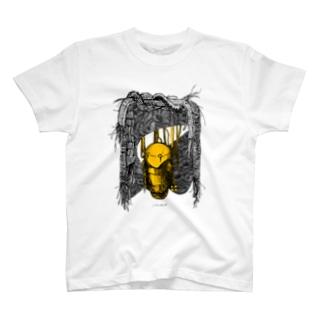 寂しくなってきたロボ T-shirts