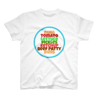 バーガーショップ T-shirts