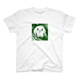【にこらび】夏を涼しくエゾモモンガD◆202106 T-shirts