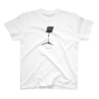 譜面台Tシャツ T-shirts