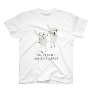 僕かこいつ、どっちにするの? T-shirts