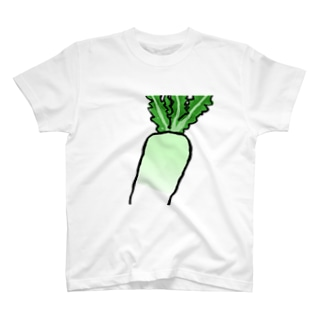 アオクビダイコン T-shirts