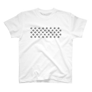 ドット・プードル T-shirts