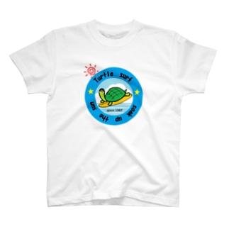 サーフィンカメさん T-shirts