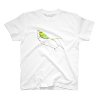 あおむけねんね T-shirts