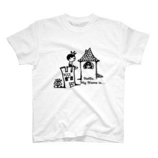 王子と姫 T-shirts