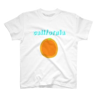 カリフォルニアオレンジTシャツ T-Shirt
