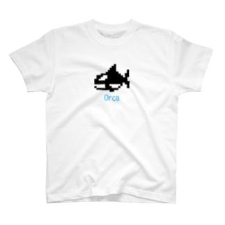 レトロゲーム風シャチ T-Shirt