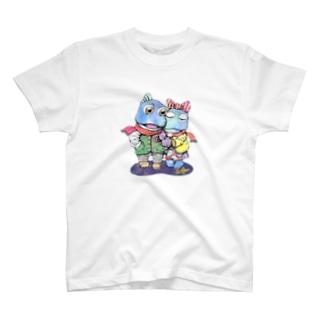 干潟の恋 T-shirts
