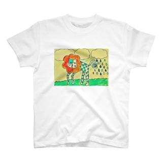 みず玉ネコ T-shirts