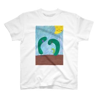 Q~りのあいさつ T-shirts