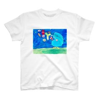 好き嫌いはありません! T-shirts