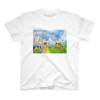 ラエ・ラエルの富と幸福のノウハウ T-shirts