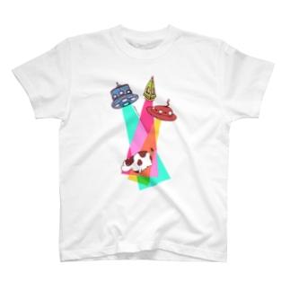 モテるうしさん T-shirts
