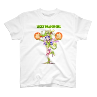 LUCKY DRAGON GIRL T-shirts