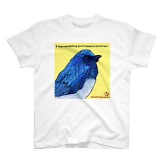 幸せの青い鳥 T-shirts