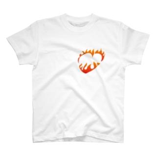 情熱ハート T-shirts