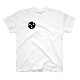 三つ巴 T-shirts