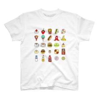 フード&ドリンク/25モンスターズ T-Shirt