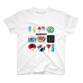 ドットSummer T-shirts