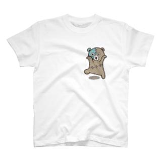 クマゾンビ-bear zombie-➁ T-shirts