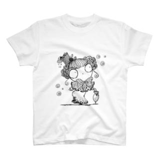 貴婦人マリエ T-shirts