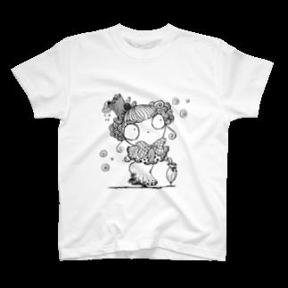 みるろってぃの貴婦人マリエ T-shirts