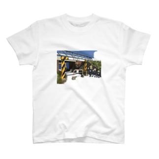 桁下T T-shirts