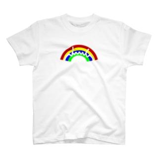 dacci 虹 T-shirts