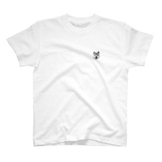 ワン!ポイント柴 T-shirts