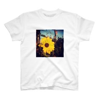 夏っぽい花⌘ T-shirts