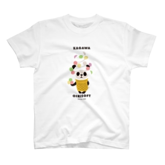 【香川】おいりソフトパンダ T-shirts
