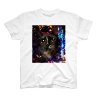 サビ猫わーるど♡ T-shirts