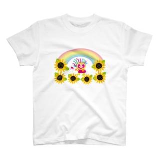 クレコのひまわり畑 T-shirts