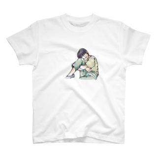 【てぃだ】かっこいい女性 T-Shirt