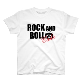 ROCK AND ROLLケーキ T-shirts