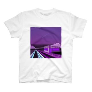 Twilight city pop T-shirts