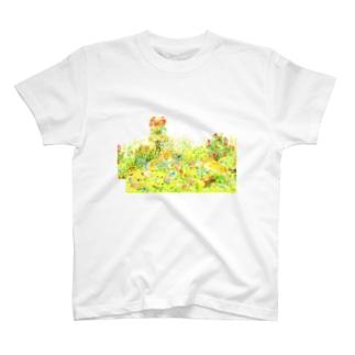【花畑cogie's】手帳型ケース T-shirts