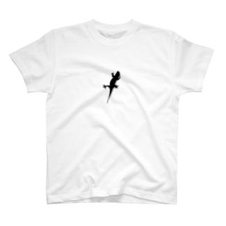 とかげTシャツ T-shirts