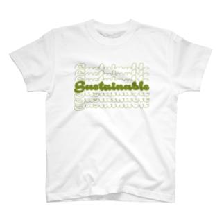 サステナブルのやつ。 T-shirts
