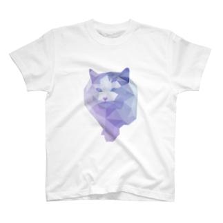 polygon cat~ポリゴンキャット T-shirts