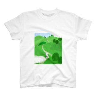 丘をこえて T-shirts