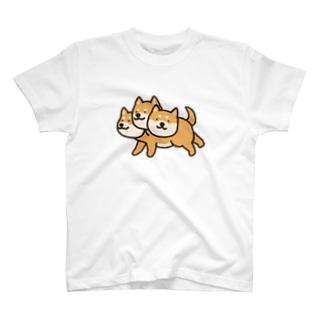 しばベロス(横) T-shirts