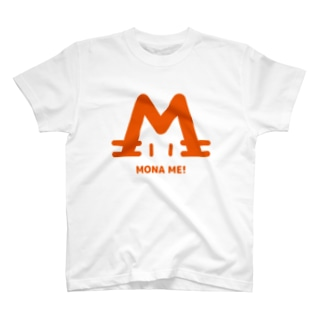 mizcoreのMONAMI猫オレンジ T-shirts