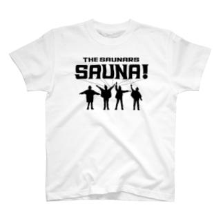 サウナ!/ザ・サウナーズ(白T) T-Shirt