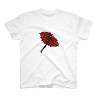 日本のカサ T-shirts